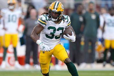 Packers add pocket to Aaron Jones' jersey so RB can play with father's ashes