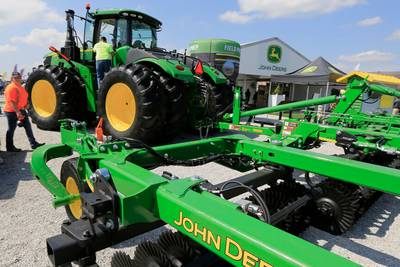 John Deere workers on strike after overwhelmingly rejecting new contract