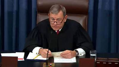 Supreme Court Chief Justice John Roberts reportedly suffered fall while walking