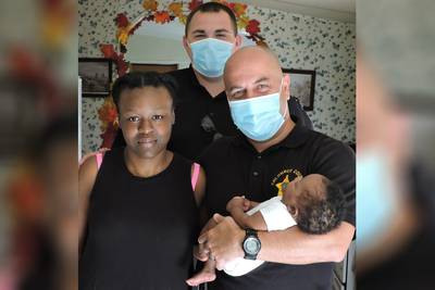 North Carolina sheriff's deputies save life of choking 1-month-old baby